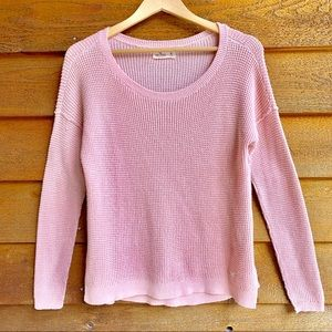 Hollister Blush Pink Knitted Sweater